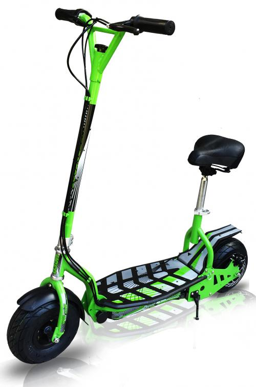 Evo Zippy Uber Electric Scooter Green Online Kids Ride