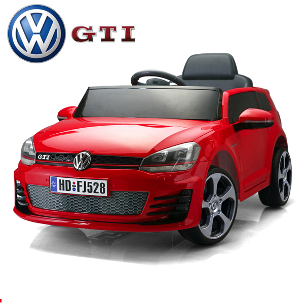 12v licensed vw golf gti ride on kids