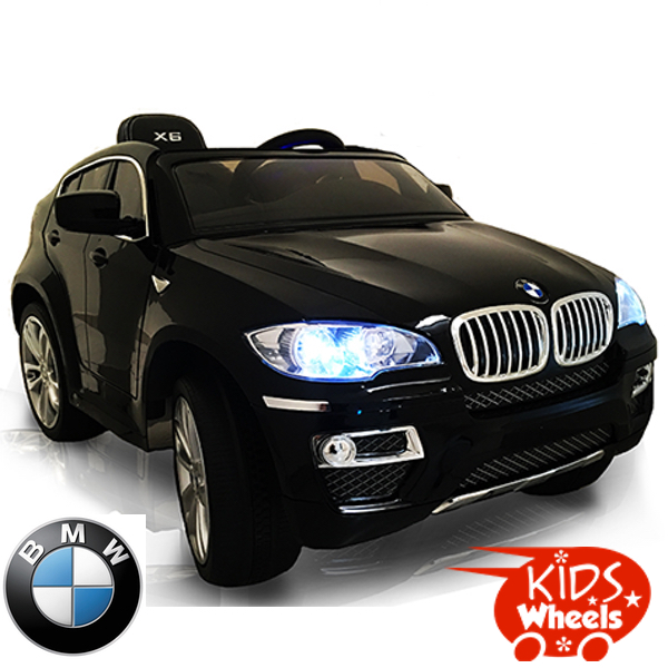 Bmw X6 Ride On Bmw X6 Black Electric Ride On Electric Ride