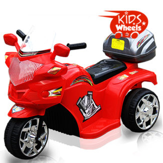 KW Police motorcycle red logo