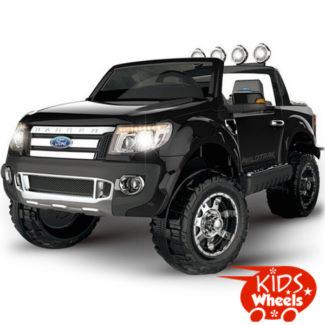 KW black Ford Ranger